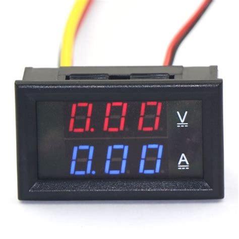 Dual Digital Voltmeter Plus Ammeter Er Meter rot phasenpr 252 fer und weitere werkzeug g 252 nstig