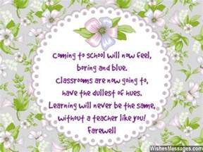 farewell messages for teachers goodbye quotes for teachers and professors wishesmessages