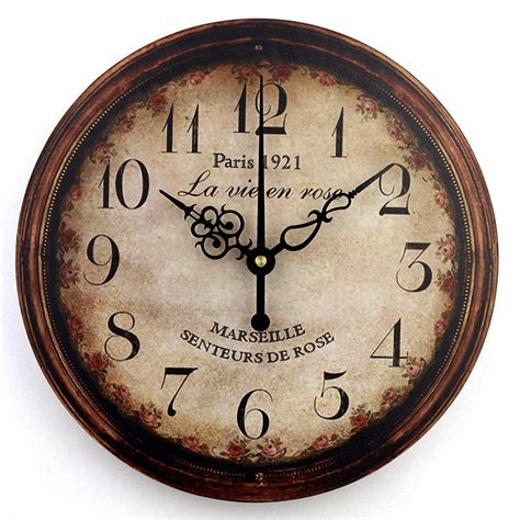 Decorative Wall Clocks by Vintage Large Decorative Wall Clock Home Decor Fashion