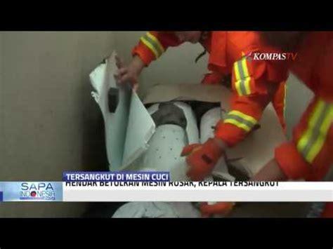 Mesin Cuci Motor Di Malang kepala pria malang ini quot nyangkut quot di mesin cuci