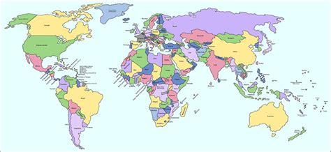 mapa mundo actual mapamundi pol 237 tico maps pinterest mapamundi politico