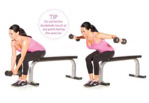 Seated bent over rear delt flyes exercises for shoulders women s