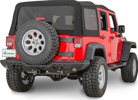Jeep Wrangler Rear Bumper Aries Al25600 0 Rear Stubbie Bumper In Black Aluminum For