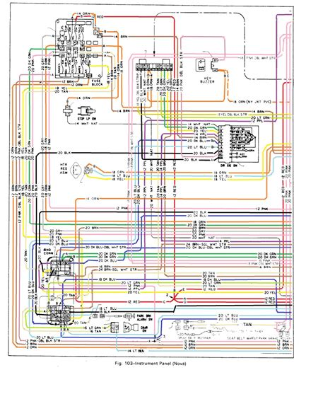 1964 chevy 2 nova steering column wiring diagram autos post
