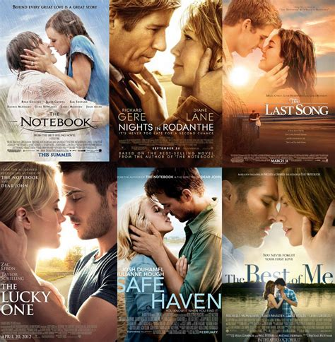 film terbaik nicholas sparks the definitive ranking of nicholas sparks movies the