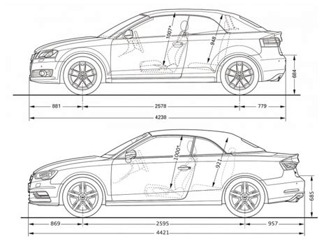 length audi a3 audi a3 cabriolet car design