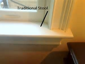 window sill or window stool which is which
