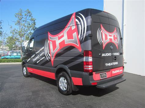 sprinter van graphic wrap santa monica ca