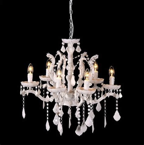 Large White Chandelier Gloss Acrylic White Chandelier Large By Cowshed Interiors