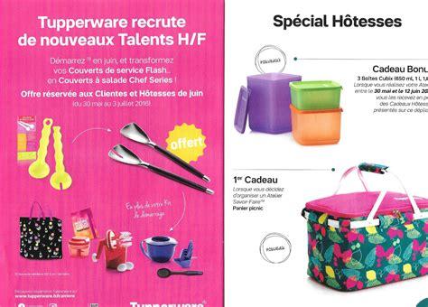 Promotion Juillet 2016 Tupperware cadeaux hotesses juin 2016 miss tupperware marseille