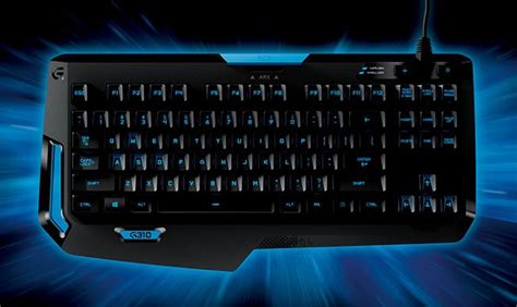 Keyboard Logitech G310 logitech g unveils the g310 ultra light mechanical gaming