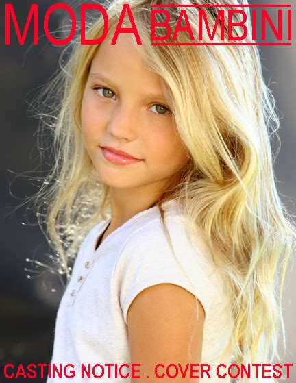 preteen magazine models images kids modeling and acting blog moda bambini magazine cover