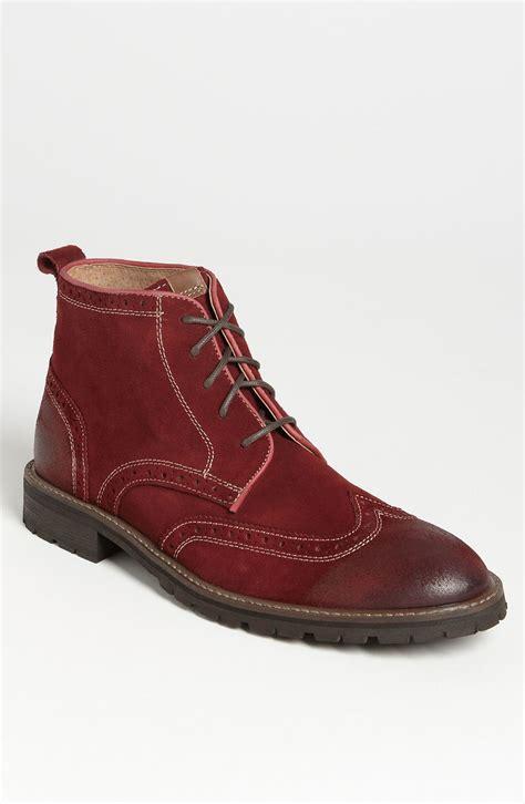 florsheim boots florsheim gaffney wingtip boot in for cherry