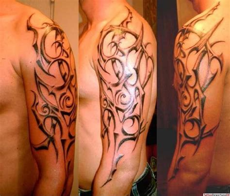 tattoo tribal vorlagen oberarm tattoo oberarm tribal schwarz