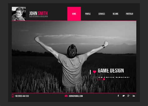 web layout muse 24 creative responsive adobe muse templates webdesignboom