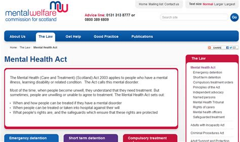 what is section 17 mental health act chrys muirhead october 2014
