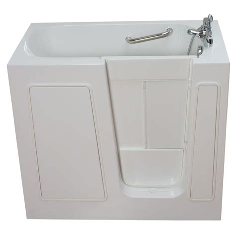 ella bathtub ella small 3 75 ft x 26 in walk in right drain soaking