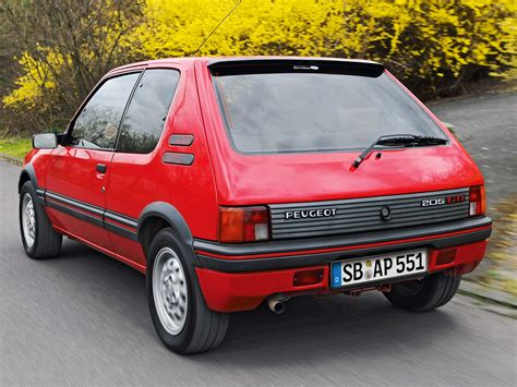 peugeot gti 1980 1984 peugeot 205 gti related infomation specifications