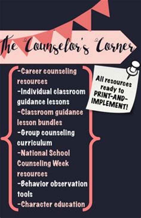 school counselor resources 1000 ideas about school counselor office on