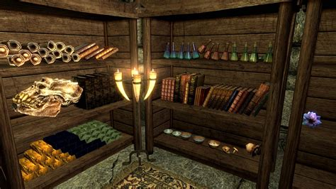 unlimited bookshelves at skyrim special edition nexus