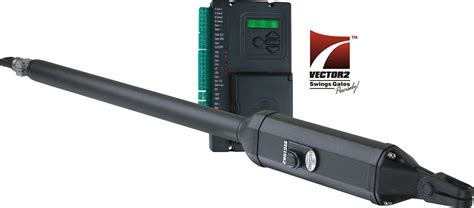 swing gate motors 2 x swing gate motors installed eec secure gate motors
