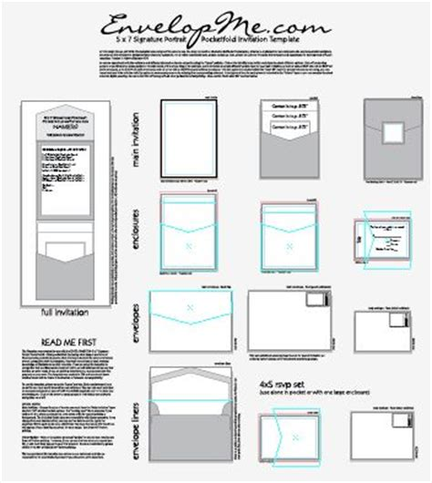 5x7 card template illustrator 20 best diy wedding invitation templates envelopes