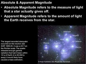 Absolute Magnitude Of Sun by We Are All Connected To Each Other Biologically Ppt