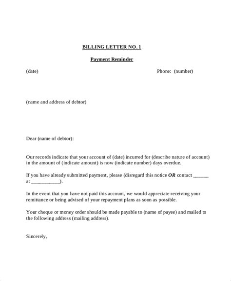 Formal Letter Format For Payment Reminder Payment Reminder Letter Template 7 Free Word Pdf Document Downloads Free Premium Templates