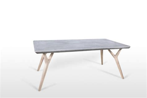 Concrete Table L by Concrete Dining Table The Utaperu Table Concrete