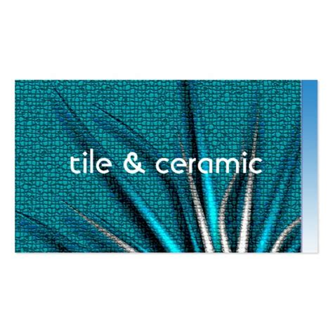 tile business cards templates collections of ceramic business cards