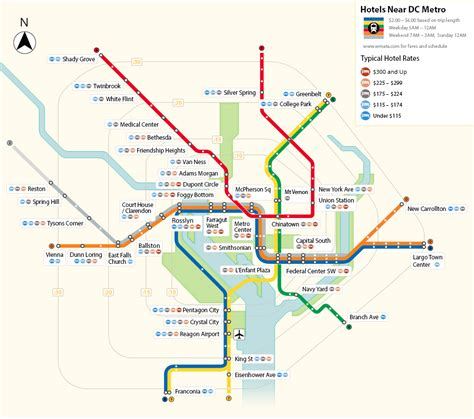 dc map metro hotels in washington dc near the metro
