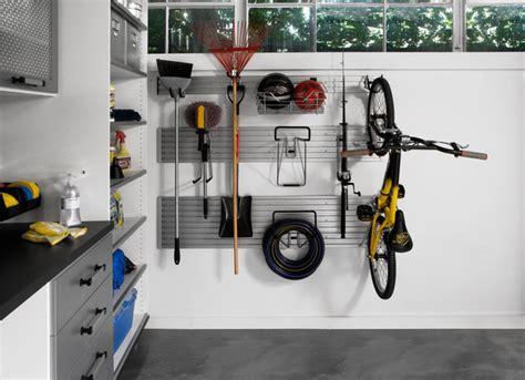 Garage Storage Hangers Garage Wall Track Modern Garage And Shed Other Metro