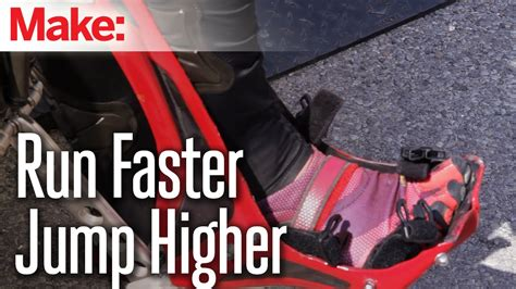 shoes that make you run faster and jump higher bionic boot human powered exoskeleton