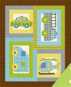 flannel transportation panel baby quilt nap quilt fabric