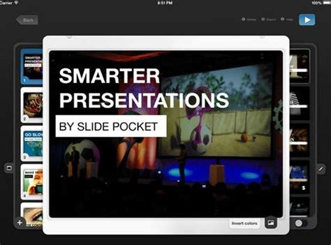 slidepocket powerpoint like ipad presentation app with
