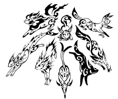 tribal tattoo pokemon eevee evolutions umbreon ee ee