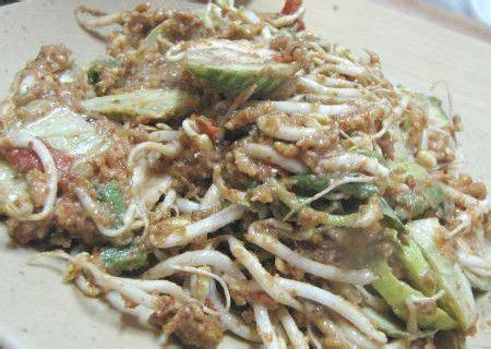 salad  karedok racikan sayuran mentah  renyah sedap