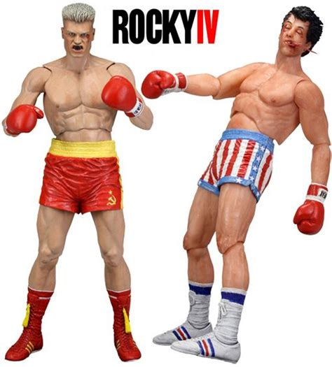 rocky 4 figures figures de rocky iv rocky balboa e ivan drago