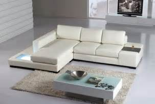 t35 mini modern leather sectional sofa