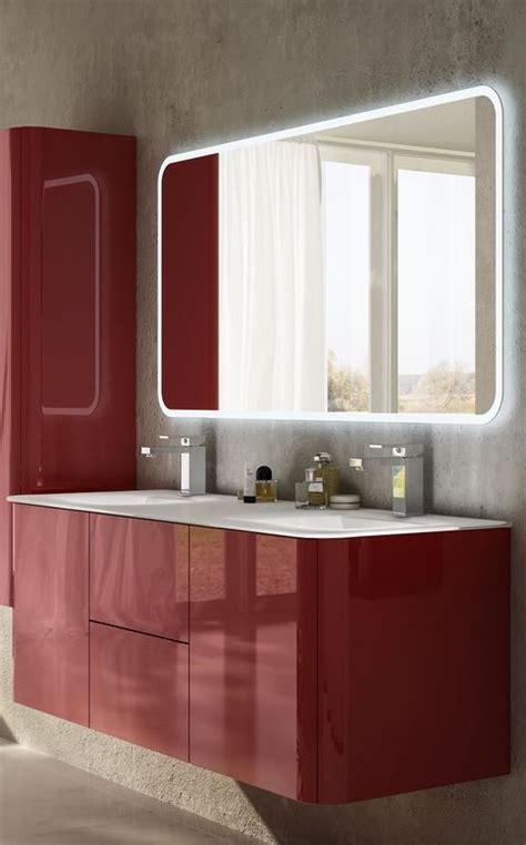 bagno moderno rosso mobili bagno rosso mobile bagno sting rosso l 104 cm