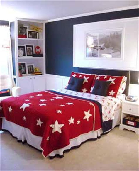 americana bedroom color rooms kids bedrooms idea blue wall boys rooms