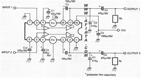 2 3 at the integrated circuit level what are the three principal constituents of a computer system 2 3w dual audio power lifier circuit electronic circuit diagram and layout