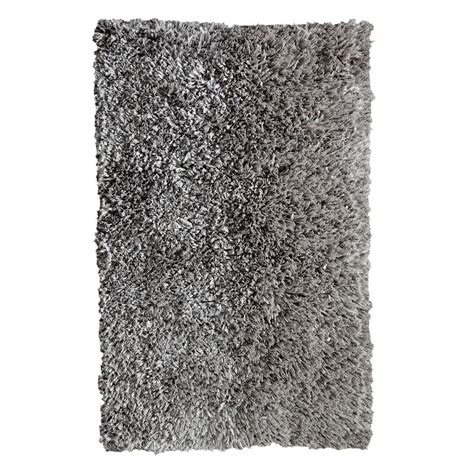 comfy rugs chesapeake merchandising comfy shag silver 5 ft x 7 ft area rug 79106 the home depot
