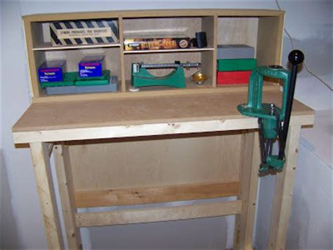 reloading bench top jacala woodworks reloading bench unfolded