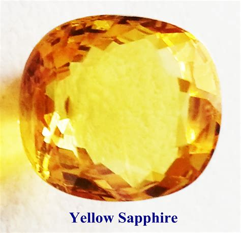 Yellow Saphire information of yellow sapphire gemstone pukhraj