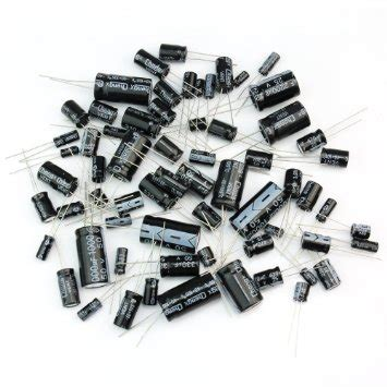 Kapasitor Elco 2 2uf 25v kondensator kit assortert utvalg av elektrolytiske