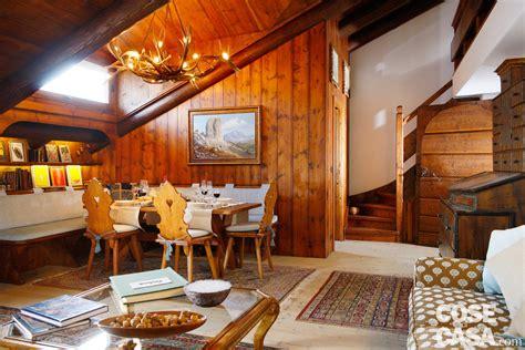 illuminazione di montagna mansarda tutta legno nuova vita per la casa di montagna