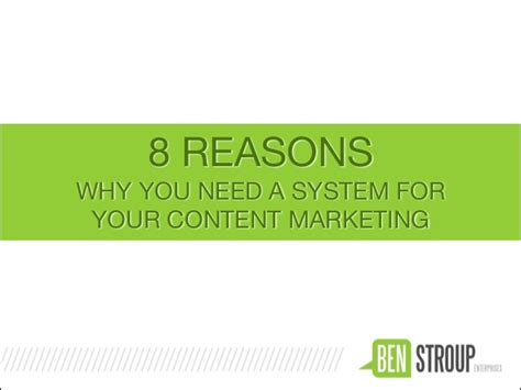 8 Reasons Why You Need A Hobby by 8 Reasons Why You Need A Content Marketing System