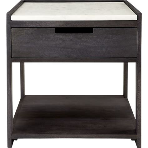 Marble Nightstand by Tux Marble Top Nightstand Cb2