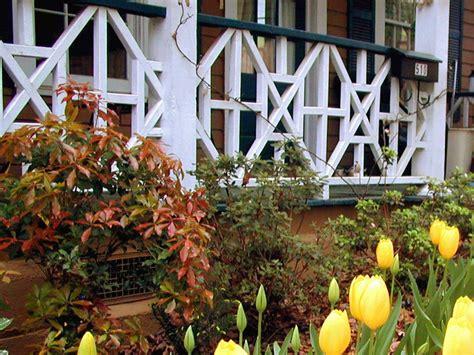 install  porch railing hgtv